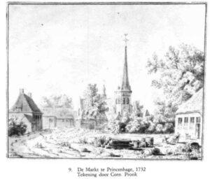 Markt Princenhage 1732